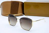 Солнцезащитные очки Dior коричневые, фото 1