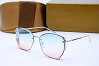 Солнцезащитные очки Dior синие с розовым, фото 1