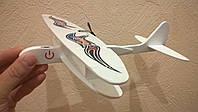 Детский самолет с электромотором .