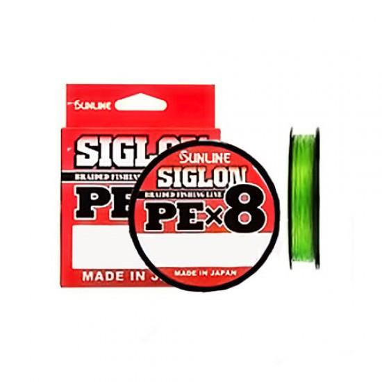 Шнур Sunline Siglon PE x8 150м (салат.) #0.8/0.153 12LB/6,0кг