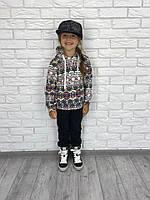 Детский спортивный костюм с принтом