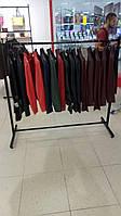 Стойка для одежды черная одинарная