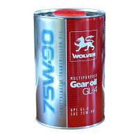 Масло трансмиссионноеWOLVER MULTIPURPOSE GEAR OIL 75W90 GL-4 канистра 1л