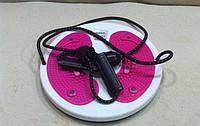 Вращающийся диск с эспандерами Грация Waist Twisting Disc with Ropes, фото 1