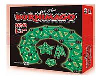 Магнитный конструктор BORNIMAGO Glow 120 деталей