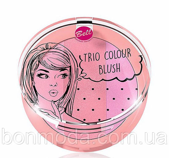 Румяна для лица Bell Trio Colour Blush № 01