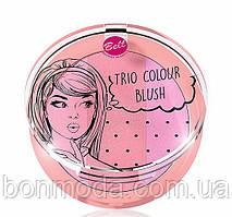 Румяна для лица Bell Trio Colour Blush № 01