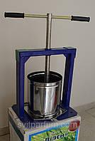 Пресс для сока Вилен-Богатырь на 25 литров(нержавейка,дуб), продам постоянно оптом и в розницу,Харьков, фото 1