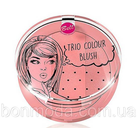 Румяна для лица Bell Trio Colour Blush № 02