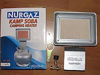 Обогреватель газовый, инфракрасная горелка с редуктором, портативный обогреватель NURGAZ NG-309, фото 1