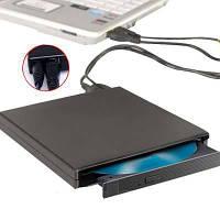 Внешний портативный cd-rom, подключается к пк/ноутбуку через usb-порт, питание от компьютера, скорость 24х