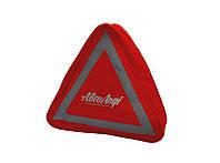 Сумка технической помощи трехугольная, красная