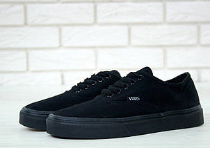 Кеды Vans AUTHENTIC All Black, (унисекс), вансы, венсы, фото 2