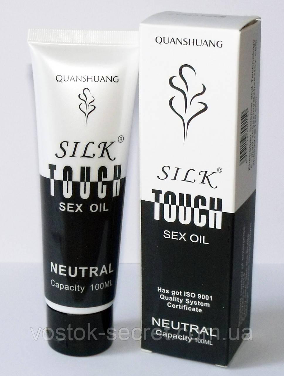 Лубрикант, гель-смазка Silk Touch