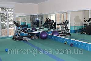 Зеркала спортивные залы