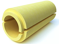 Скорлупа ППУ (пенополиуретан) без покрытия для теплоизоляции труб    Ø 725/40 мм
