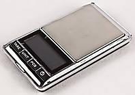 Карманные ювелирные электронные весы 0.01-300 гр с чехлом (45206)