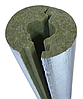 Скорлупа базальтовая Ø 60/40 для изоляции труб кашированная фольгой