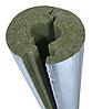Шкаралупа базальтова Ø 108/40 для ізоляції труб кашована фольгою