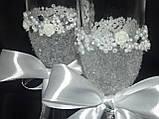 Свадебные бокалы  ВА19, фото 2