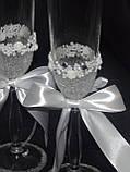 Свадебные бокалы  ВА19, фото 3