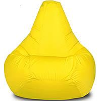 Кресло-мешок Груша Хатка средняя Желтая