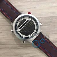 Наручные часы AMST 3017 Silver-White Red-Blue Brown Wristband