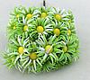 Ромашки 2,5  см 10 шт/уп.светло-зеленого цвета