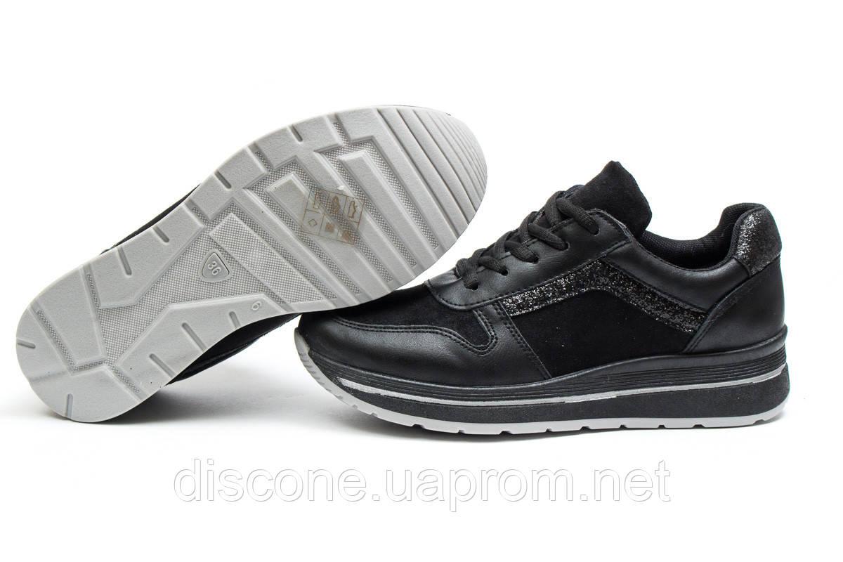 Кроссовки женские ► Ideal Black,  черные (Код: 14301) ►(нет на складе) П Р О Д А Н О!