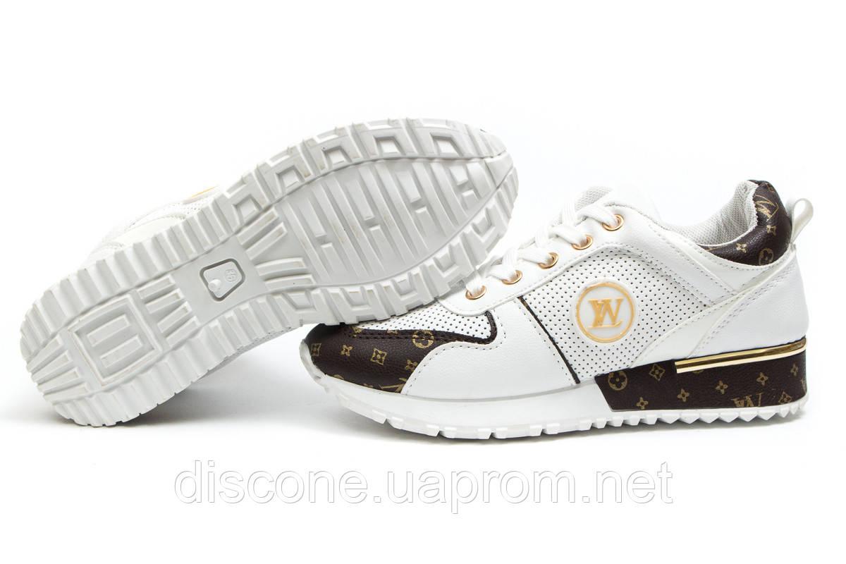 Кроссовки женские ► Ideal White,  белые (Код: 14312) ► [  37 (последняя пара)  ] ✅Скидка 61%
