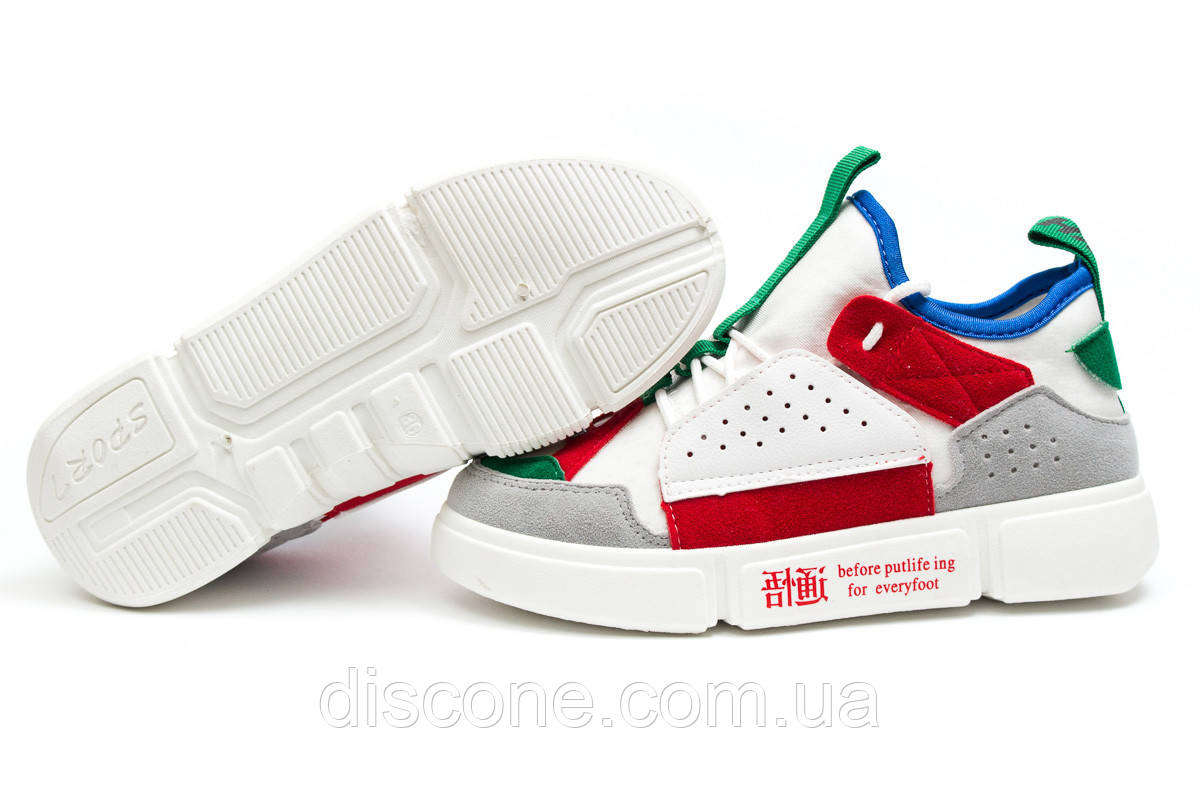 Кроссовки женские ► Skyrun White/Red,  белые (Код: 14322) ►(нет на складе) П Р О Д А Н О!