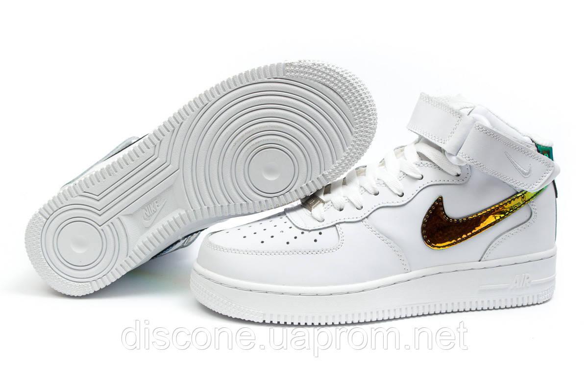 Кроссовки женские ► Nike  Air Force 07,  белые (Код: 14371) ► [  37 (последняя пара)  ] ✅Скидка 37%