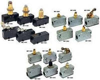 Микропереключатели МП 1101, 1107, 2101, 2102, 1303