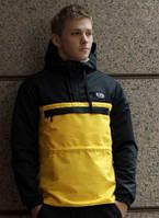Анорак мужской Delta Anorac 2.0 Черный Желтый Ястребь куртка