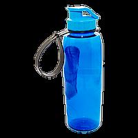 Бутылочка для воды 0,7 л голубая