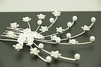 Свадебные гребешки с жемчугом, свадебные аксессуары для волос оптом .114