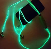 Cветящиеся, LED наушники о