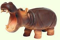Бегемот. Мягкая латексная игрушка, 27 см (63855)