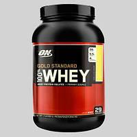 Протеин Optimum Gold Standard 100% Whey (907 г) Ванильное мороженое, фото 1