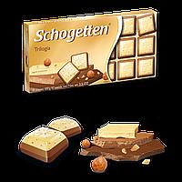 """Шоколад Schogetten Trilogia - Черный, молочный, белый шоколад """"Трилогия"""""""