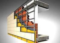 Монтаж навісних вентильованих фасадів (Марморок, Сканрок), фото 1