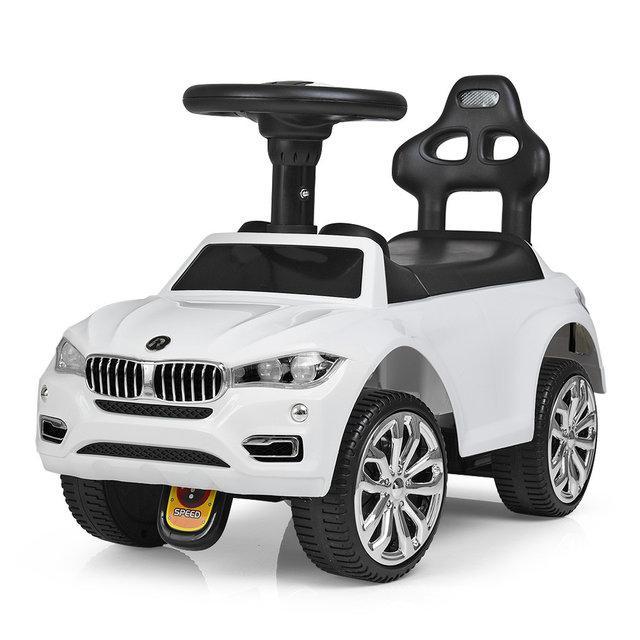 Детская каталка-толокар BMW 7661-1, белая