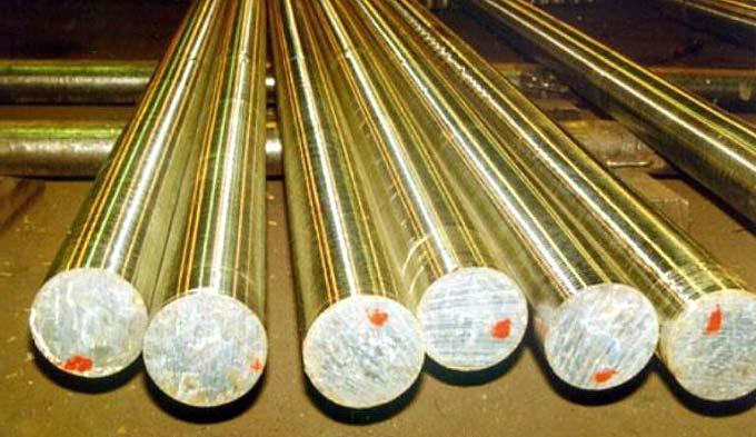 Пруток бронзовый БрАЖ диаметром 140 мм