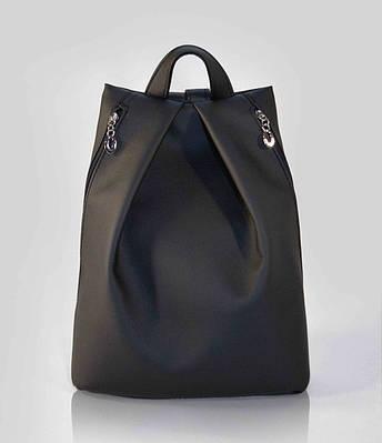 """Городской рюкзак """"Rebecca"""" - черный 04"""