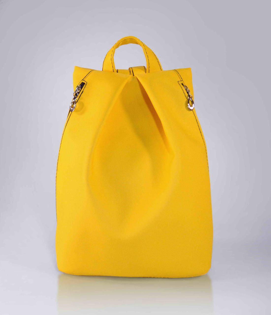 """Городской рюкзак """"Rebecca"""" - желтый 15"""