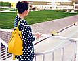 """Городской рюкзак """"Rebecca"""" - желтый 15, фото 4"""