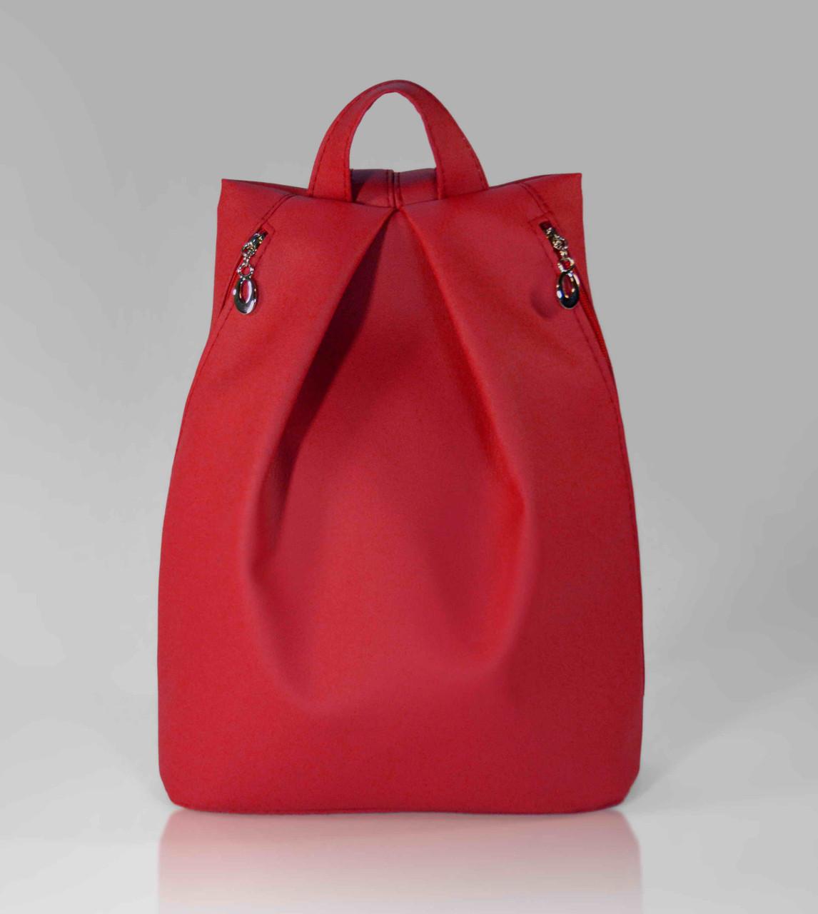 """Городской рюкзак """"Rebecca"""" - красный 11"""