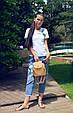 """Мини - рюкзак """"Sopfie"""" Beige 14, фото 3"""