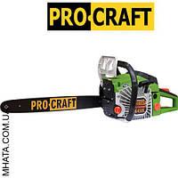 Бензопила PROCRAFT K450L металл (1 шина 1 цепь+ доп. воздушный фильтр) + шина и цепь 40