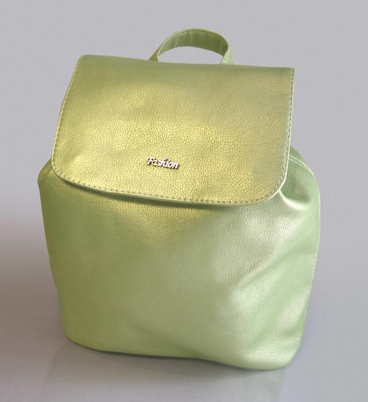 """Городской рюкзак """"Christina"""" Mint Pearl 23"""